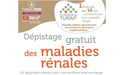 depistage maladies renales clinique turin